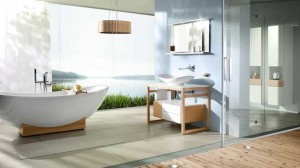 Salle de bains esprit scandinave